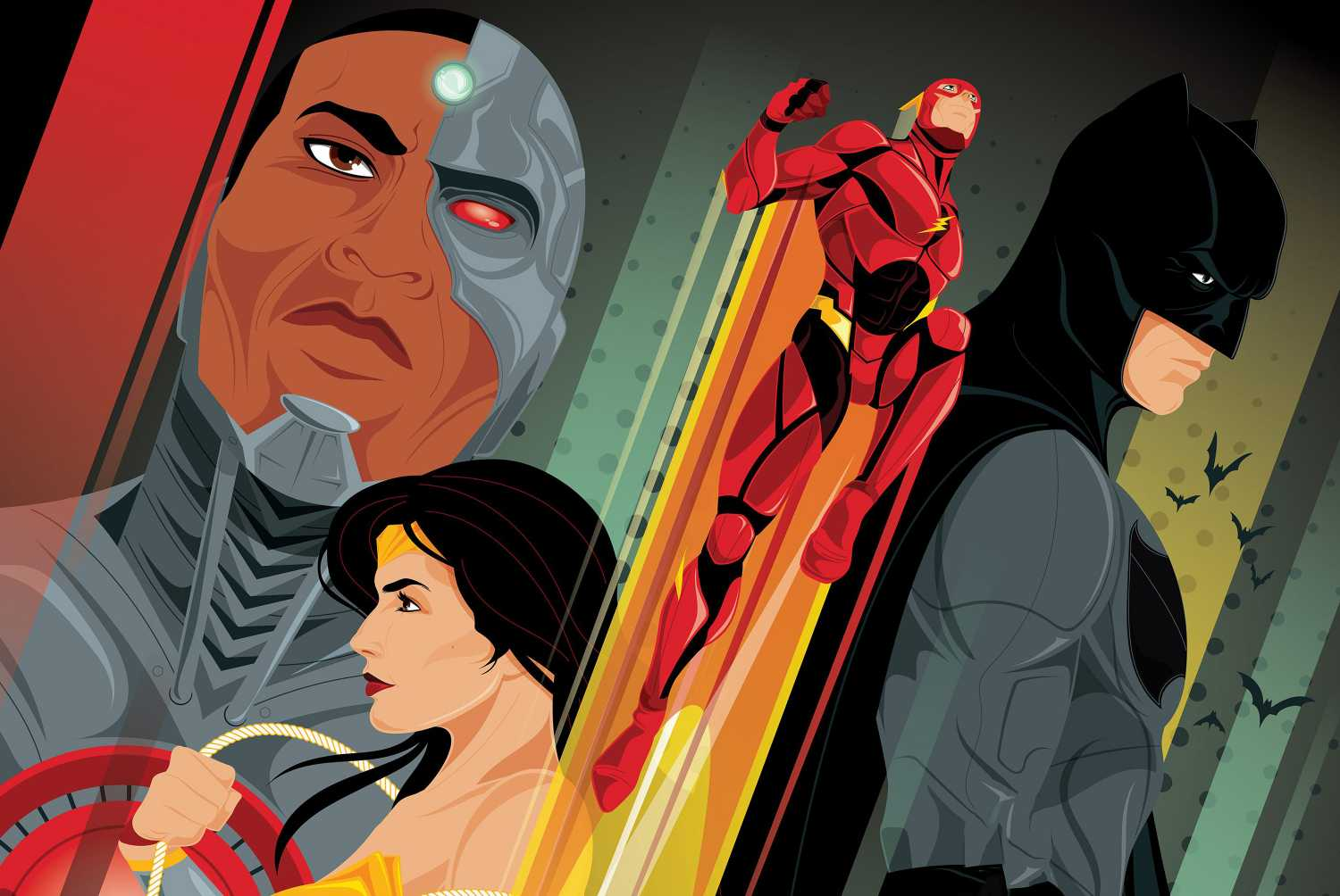 Justice League Imax Poster