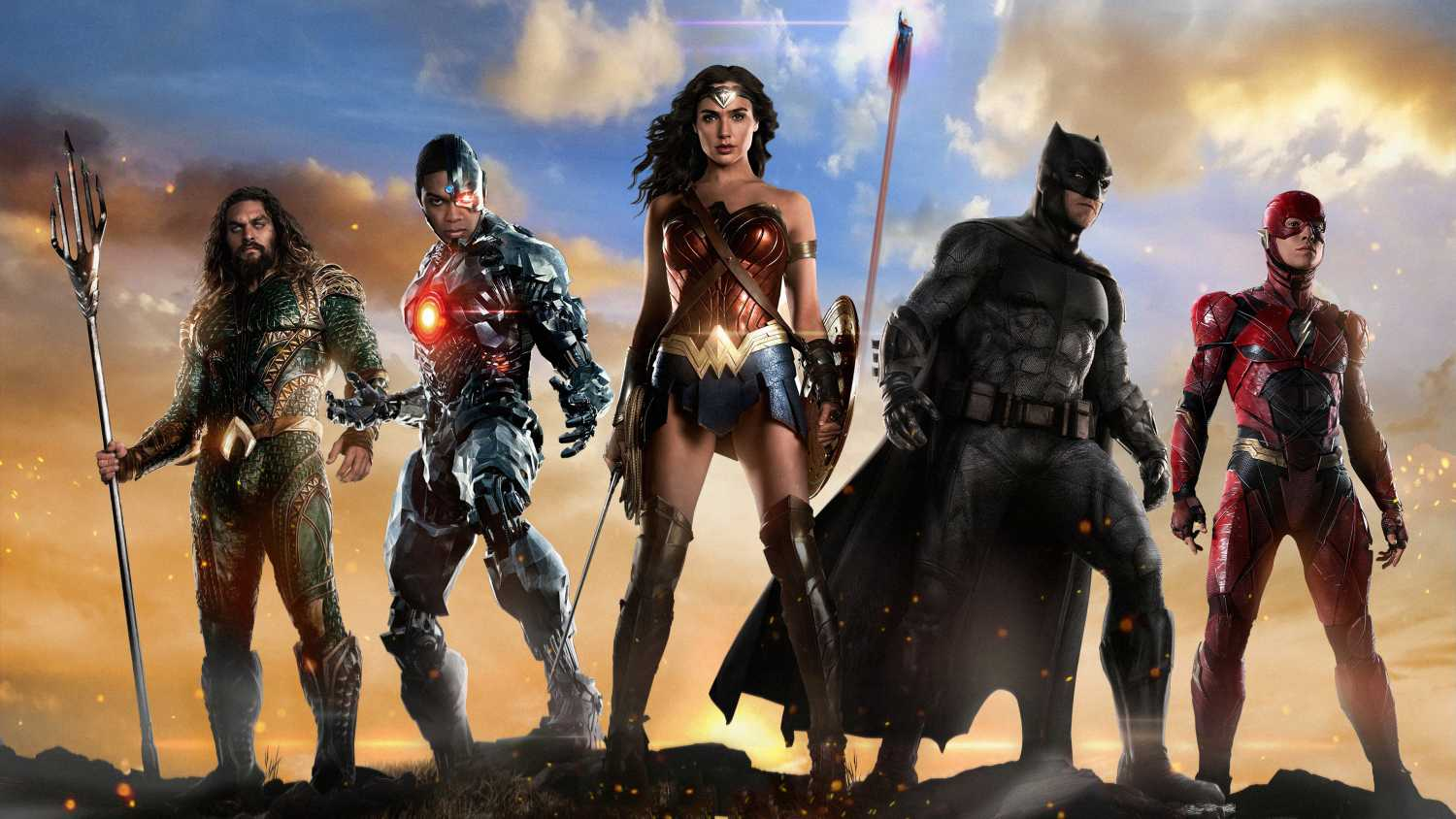 Justice League Movie New Poster