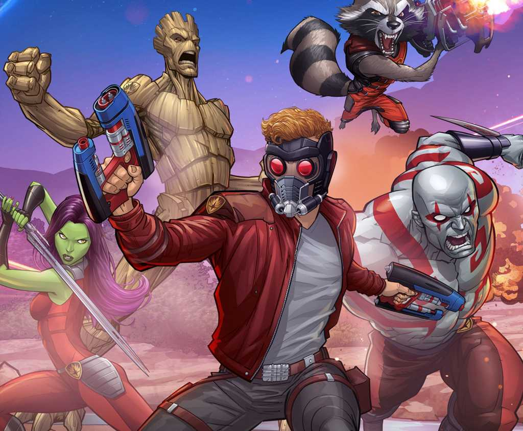 Marvel Guardians Of The Galaxy Art