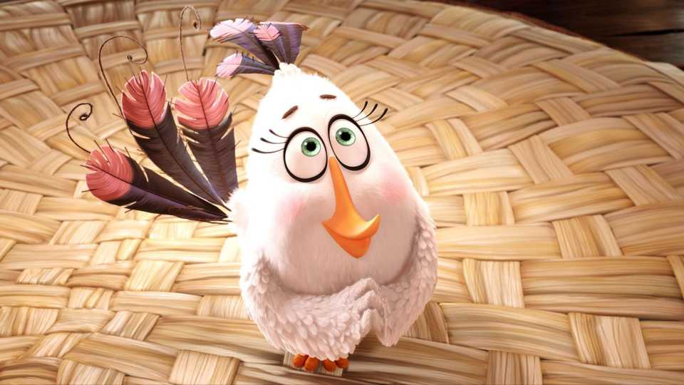 Matilda In The Angry Birds Movie