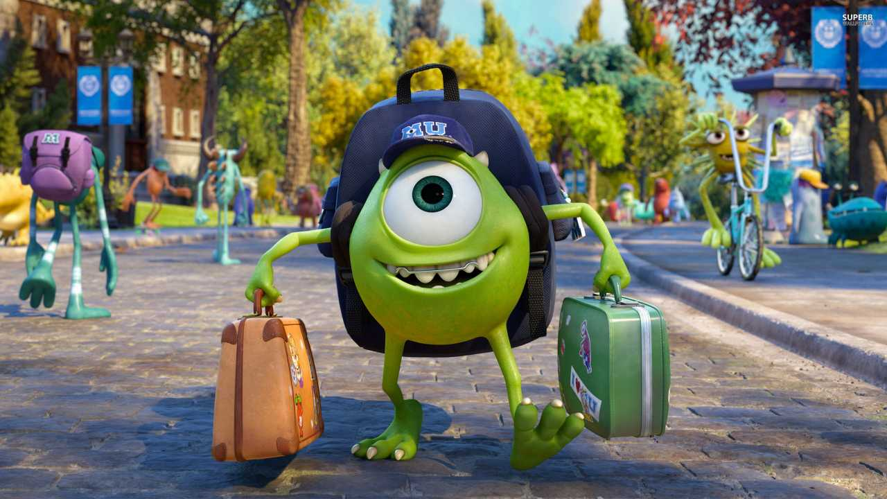 Mike In Monsters University Qhd