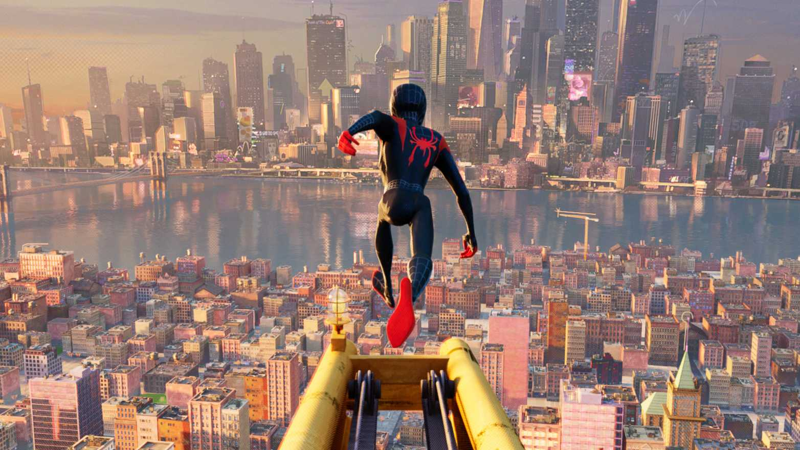 Miles Morales In Spider Man Into The Spider Verse 2018