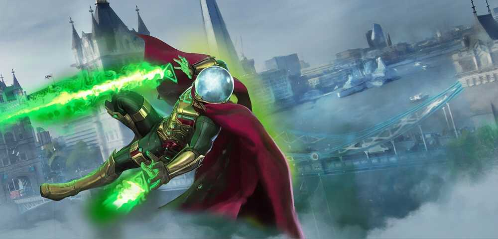 Mysterio Spiderman Far From Home