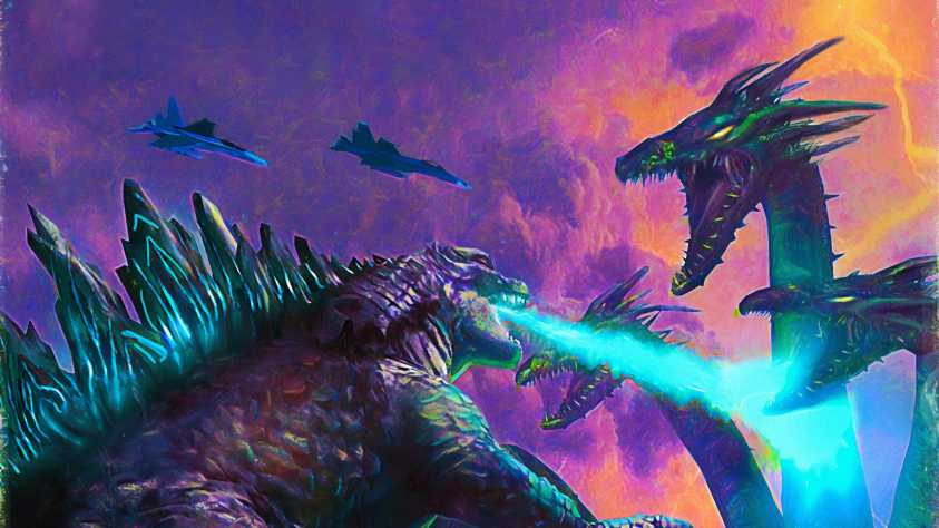 Poster Art Godzilla King Of The Monsters