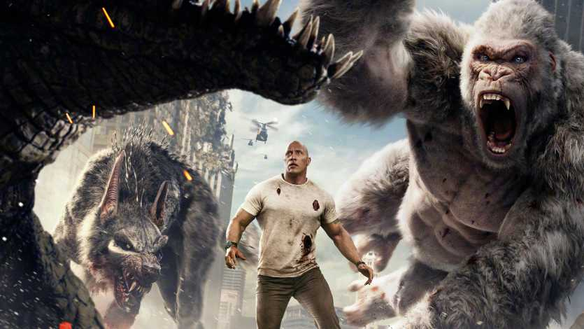 Rampage Chinese Poster 2018