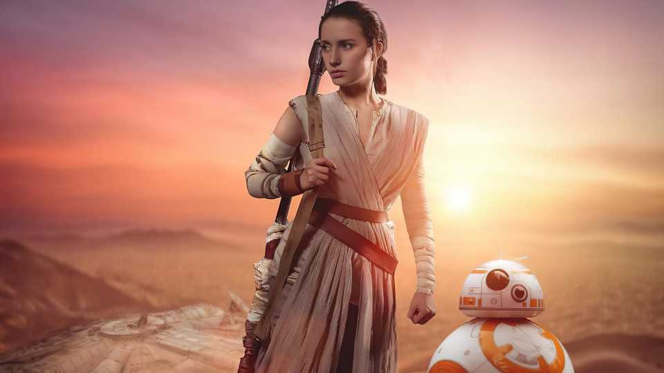 Rey And Bb8 Cosplay 4k