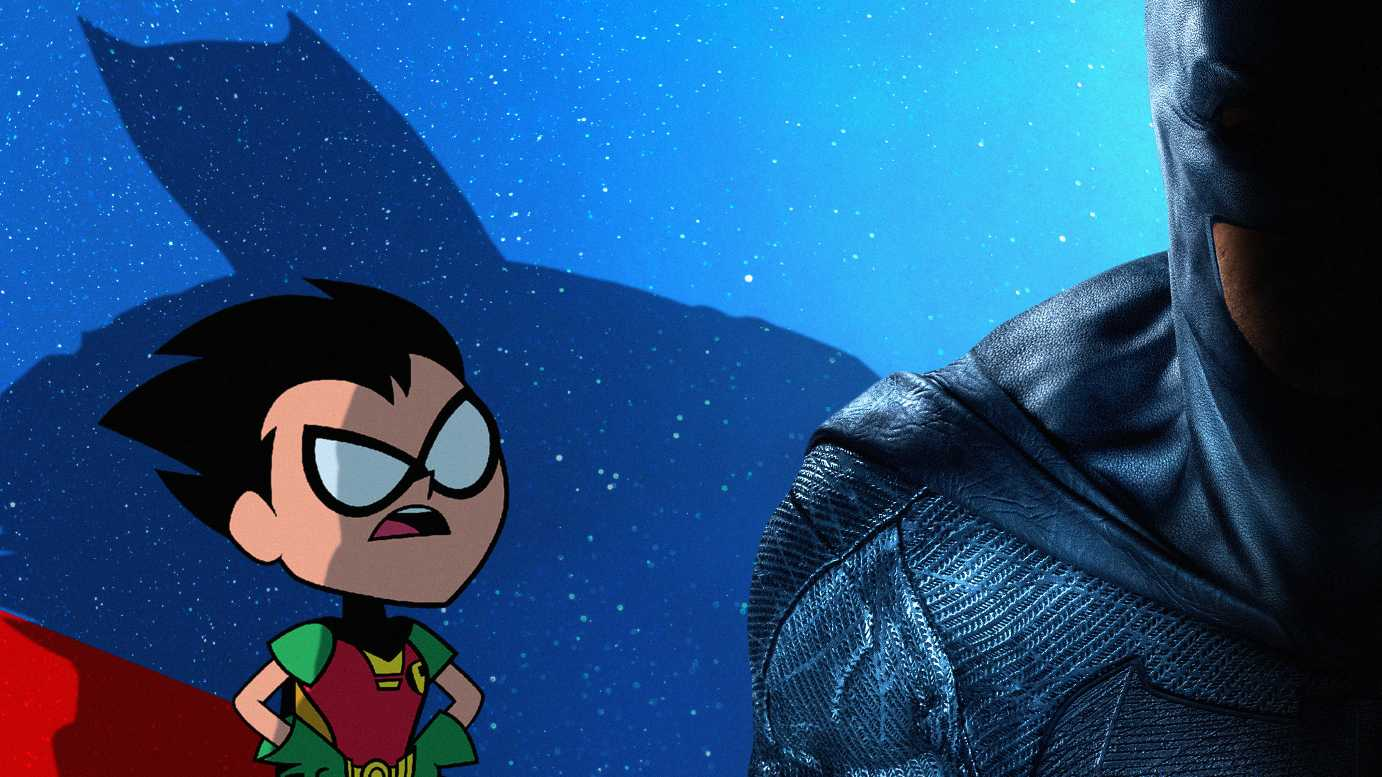 Robin In Teen Titans Go To The Movies 2018 Movie