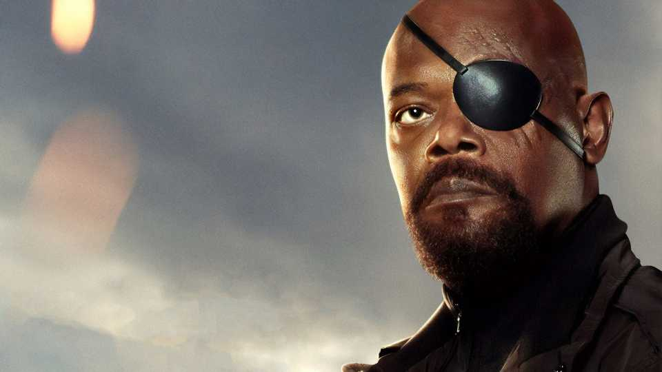 Samuel L Jackson As Nick Fury In Spider Man Far From Home Poster