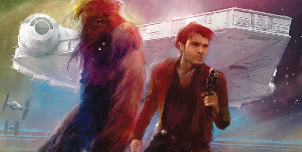 Solo A Star Wars Story Movie Sketch Poster