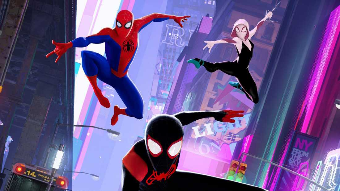 Spider Man Into The Spider Verse Chinese Poster 2018