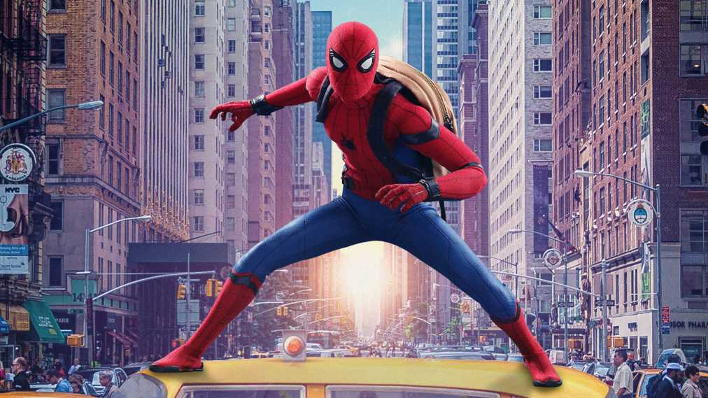 Spiderman Homecoming Movie Poster