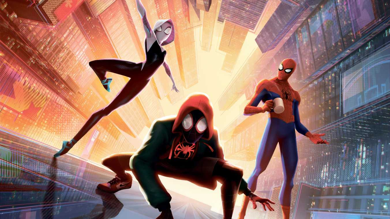 Spiderman Into The Spider Verse New New 5k