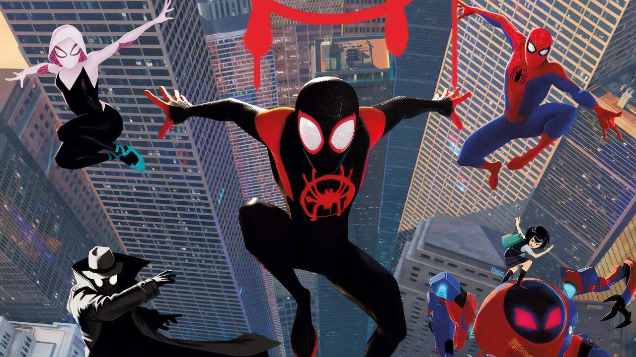 Spiderman Into The Spider Verse New Poster Art