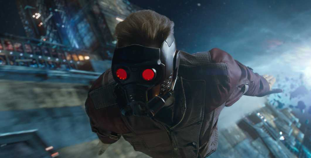 Star Lord Flying Pic