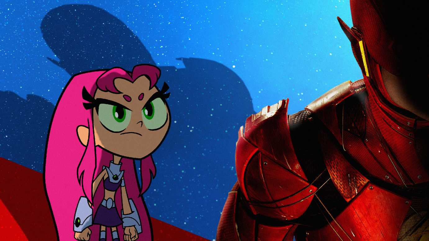 Starfire In Teen Titans Go To The Movies 2018 Movie