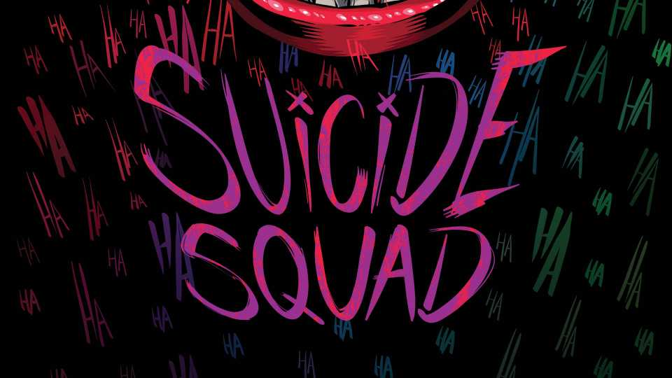 Suicide Squad Typography Hd