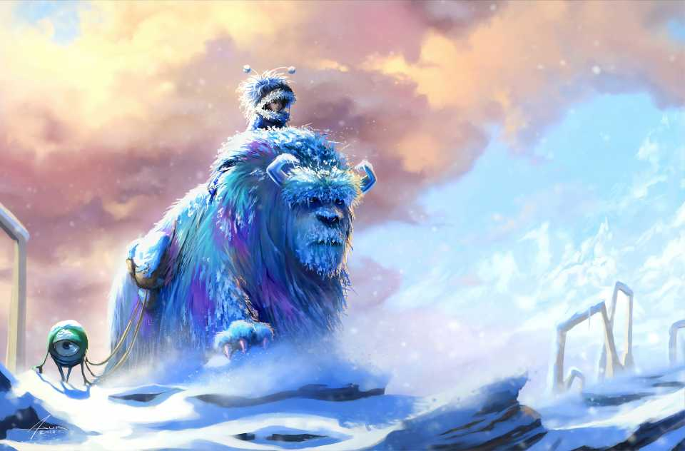Sulley And Mike Monsters