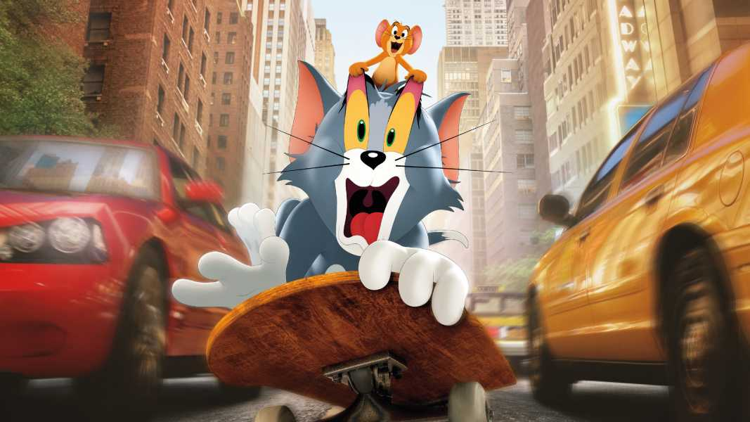 Tom And Jerry Movie Poster 4k