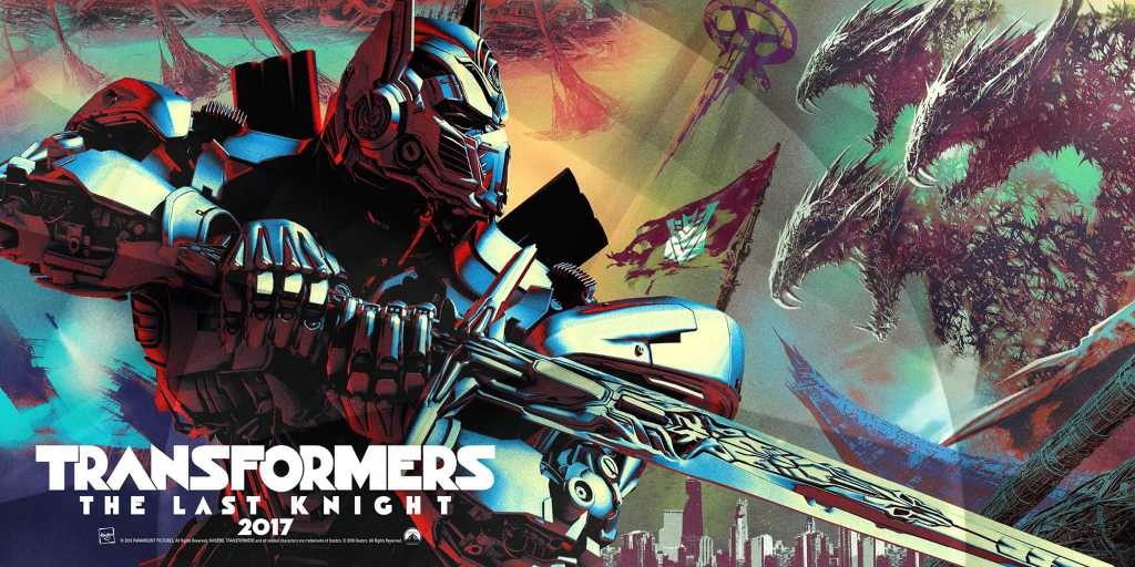 Transformers The Last Knight Poster