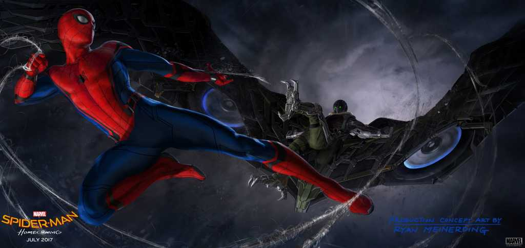Vulture In Spider Man Homecoming Concept Art W