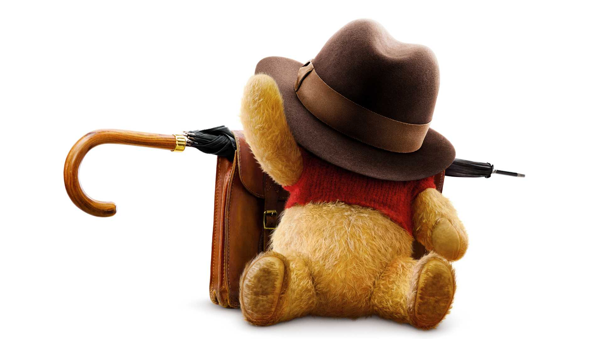 Winnie The Pooh In Christopher Robin Movie 8k
