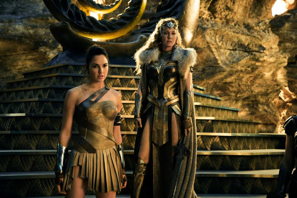 Wonder Woman With Her Mother Hippolyta