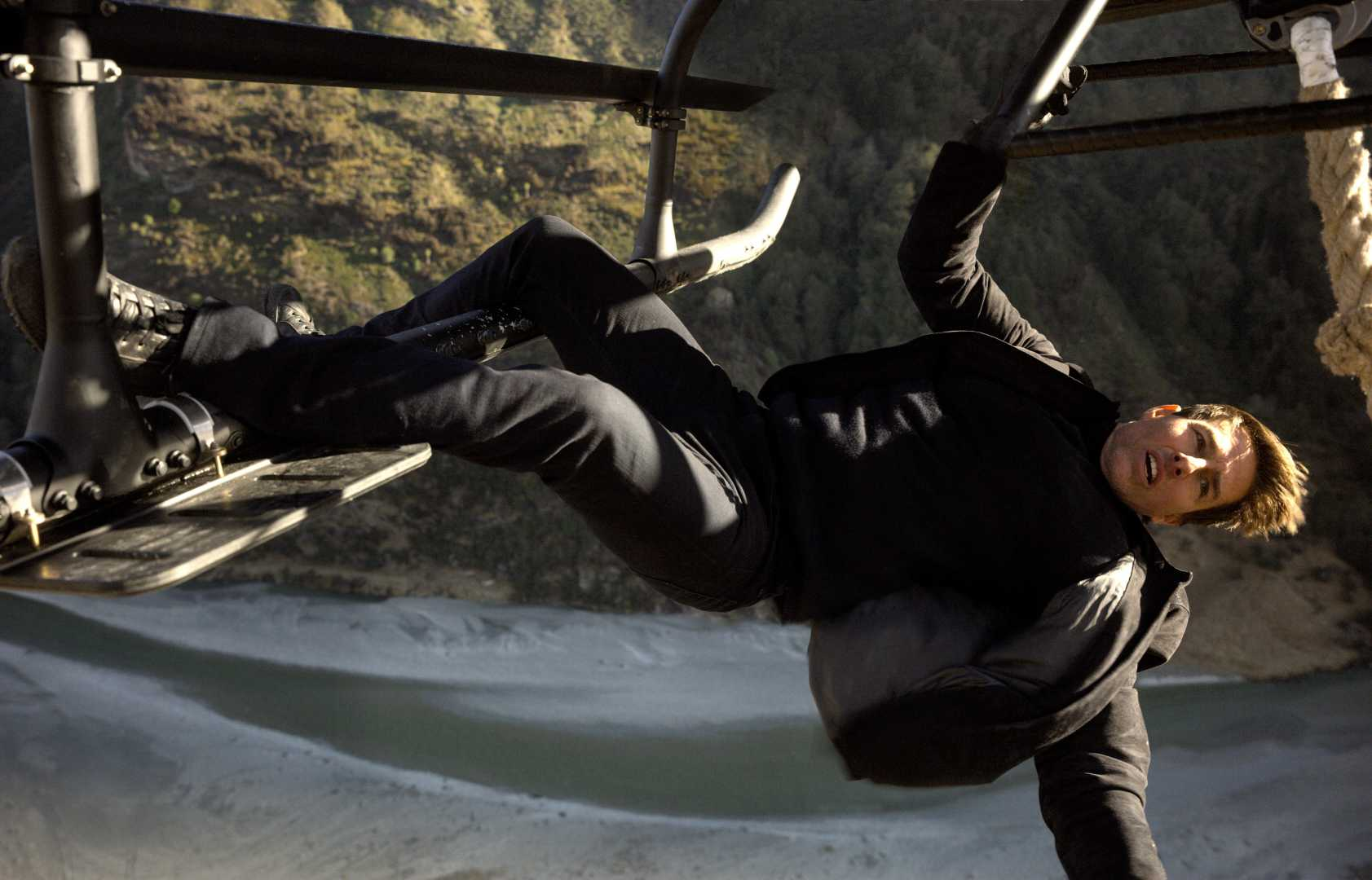 Tom Cruise In Mission Impossible Fallout 2018 5k