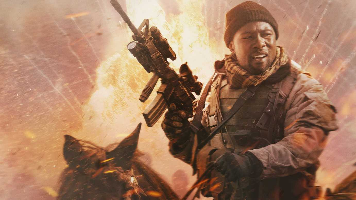 Trevante Rhodes In 12 Strong Movie