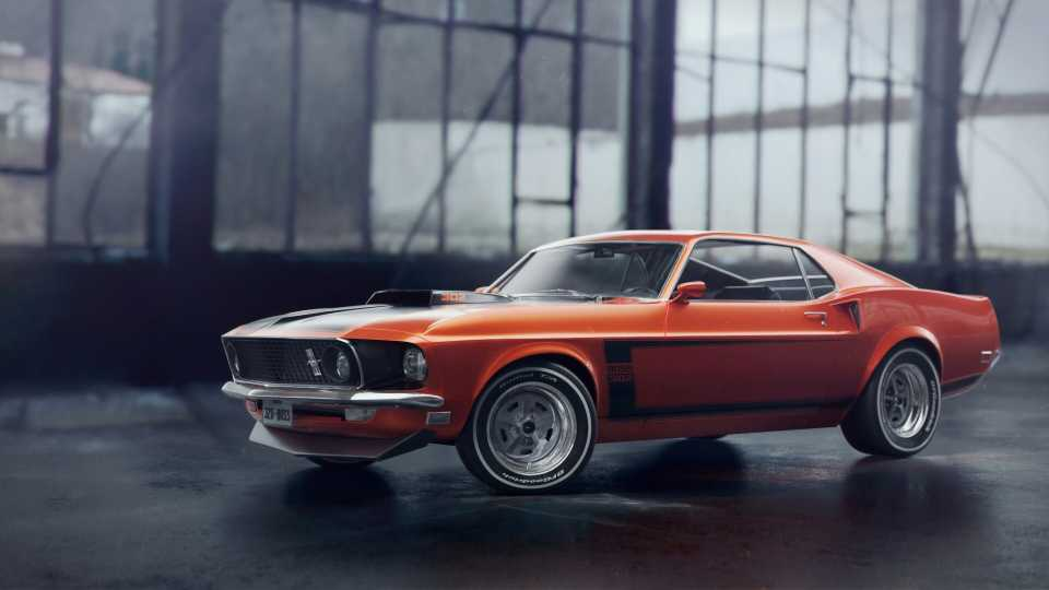 4k Ford Mustang