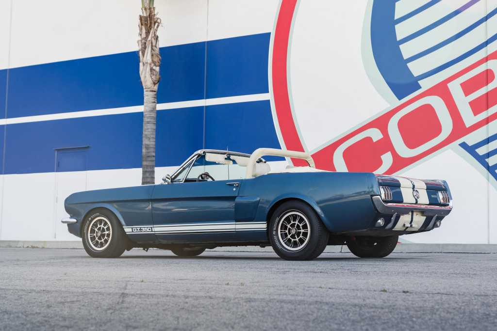 1966 Shelby Gt350 Continuation Series Convertible Car