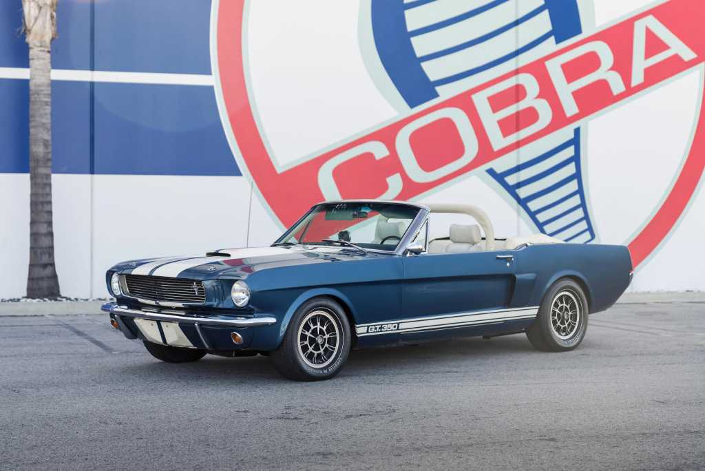 1966 Shelby Gt350 Continuation Series Convertible