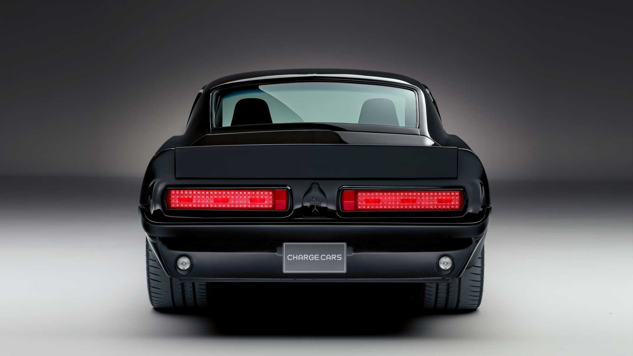 1967 Charge Cars Ford Mustang Rear View