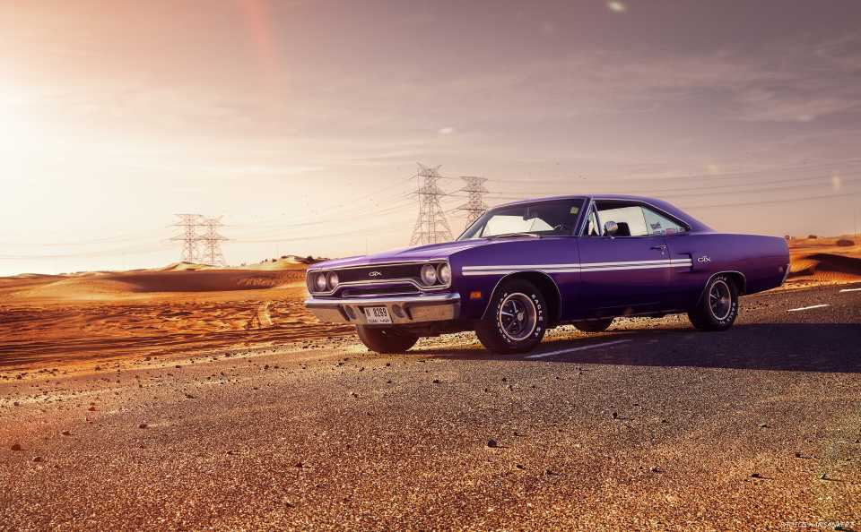 1970 Plymouth Gtx Side View