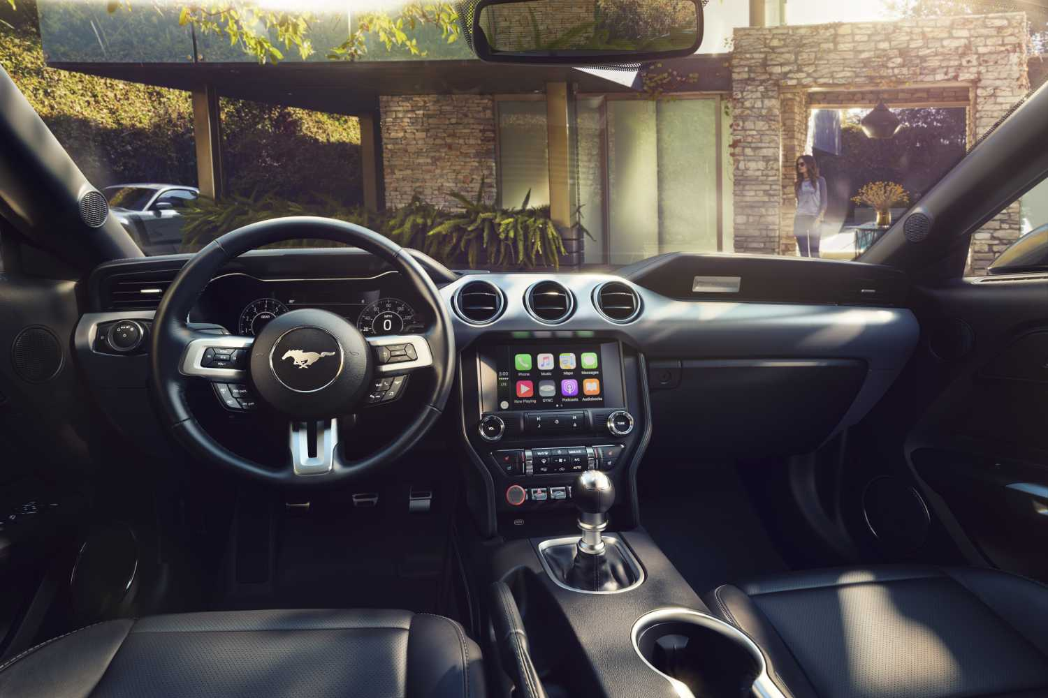 2018 Ford Mustang Interior Wide