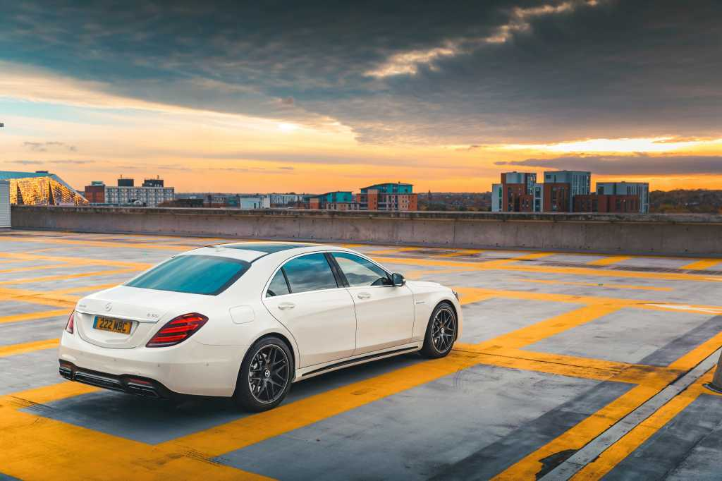 2018 Mercedes Amg S63 Back View