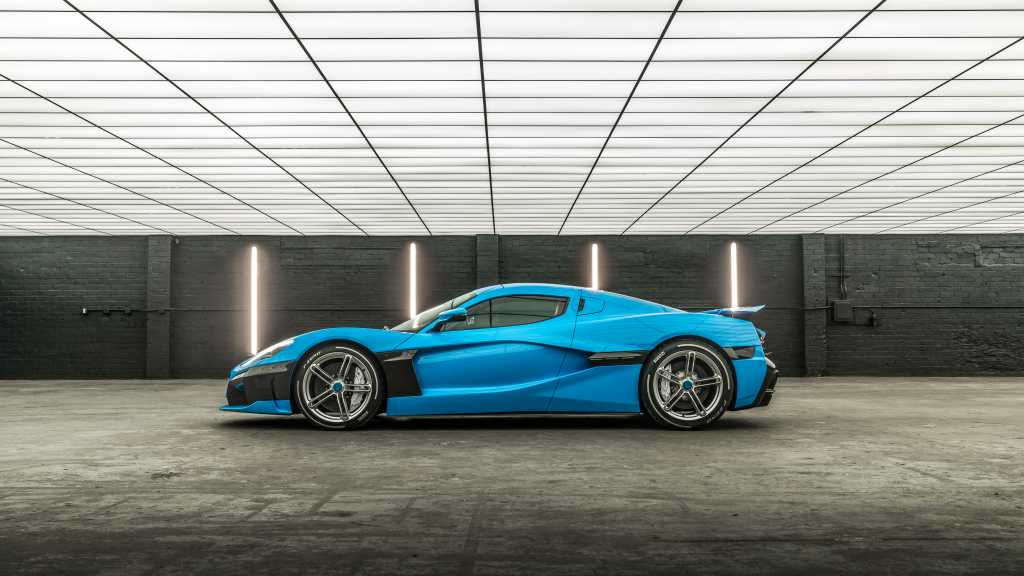 2018 Rimac C Two California Edition Side View